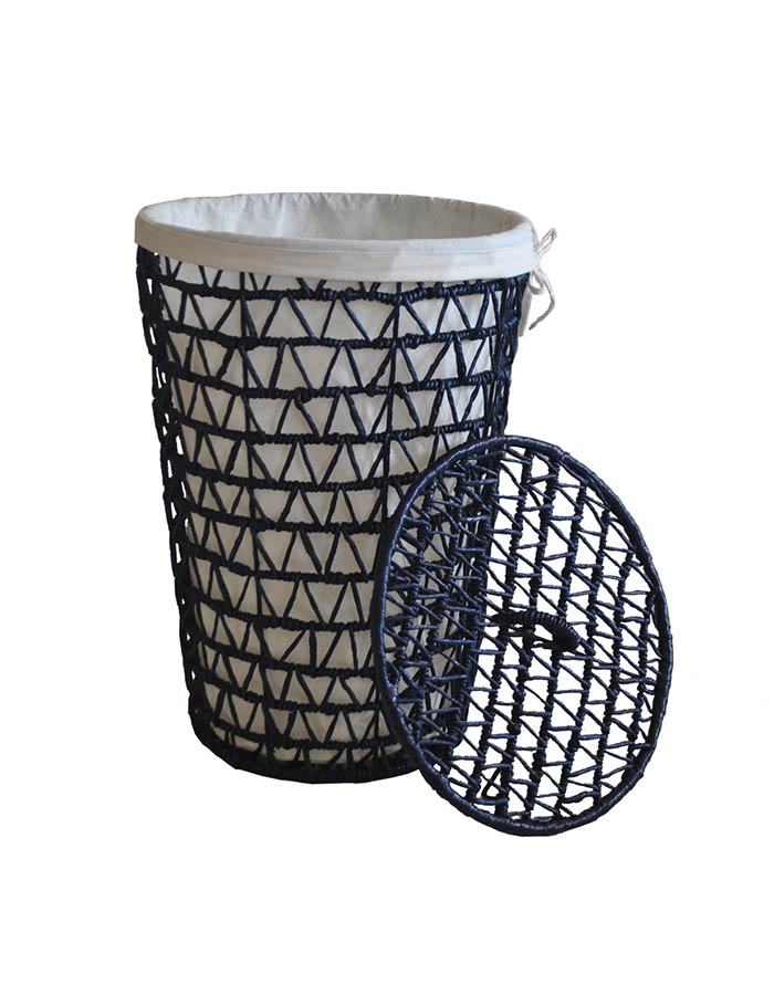 VEKTOR Waterhyacinth LaundryBasket Tall