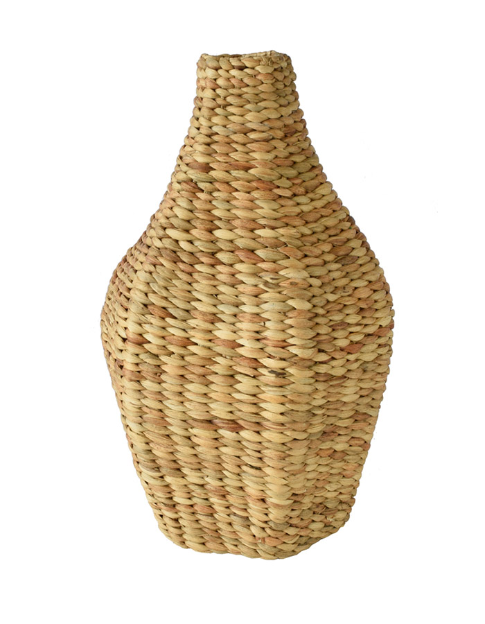 VINOTTI Waterhyacinth Organic Shape Tall Vase