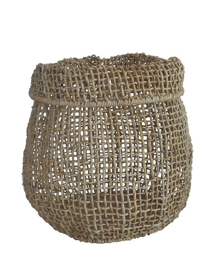 PALOMA Abaca Organic Shape Basket