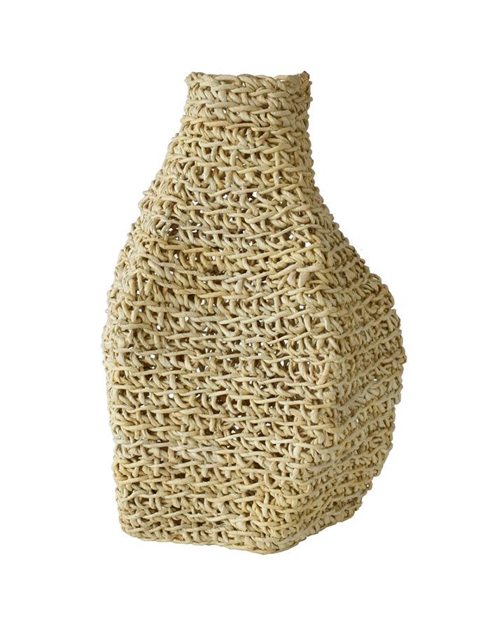 VINOTTI Abaca Organic Shape Tall Vase