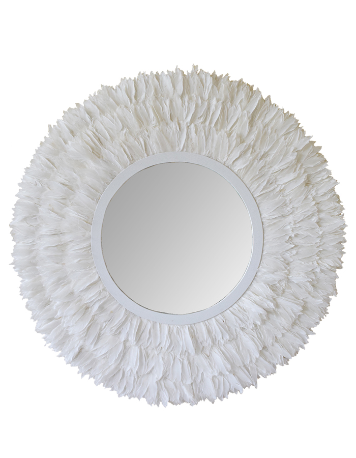 MATAHARI Goose Feather Mirror